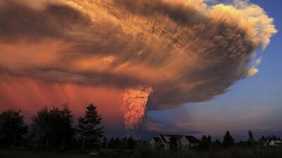 """Advierten en Chile que el volcán Calbuco podría tener una actividad """"más agresiva"""""""