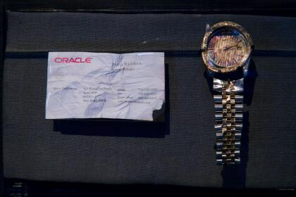 Todd Beamer Watch and Business Card_Credit Jin Lee.jpg