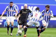 Con goles de Dusan Tadic y Sebastien Haller, el Ajax se impone al Heerenveen, durante la Jornada 29 de la Eredivisie. El tanto en solitario para los locales fue por parte de Mitchell van Bergen. El mexicano Edson Álvarez participó los 90 minutos del encuentro.
