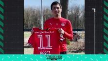 Desde Holanda llegó el apoyo para Sergio Pérez