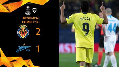 Villarreal 2-1 Zenit - GOLES Y RESUMEN - VUELTA - OCTAVOS DE FINAL - UEFA Europa League