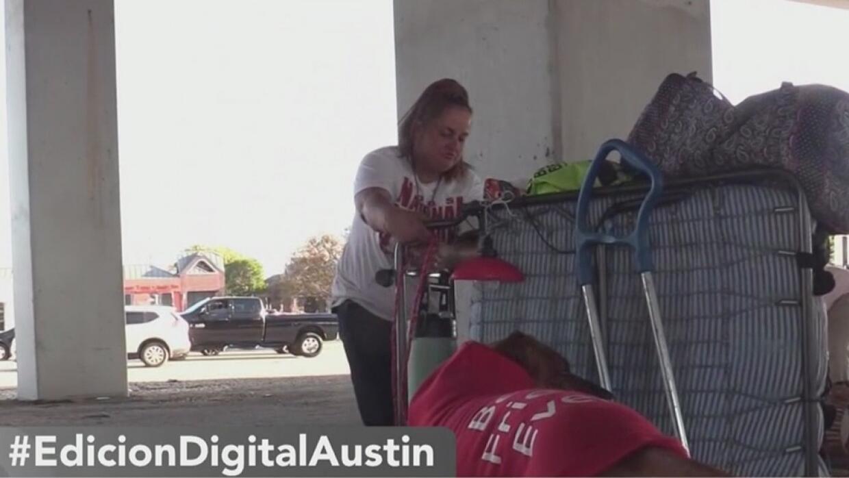 Hoteles podrían convertirse en los nuevos refugios para los desamparados en Austin - Univision