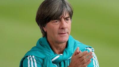 Joachim Low comentó que no son favoritos ante Francia