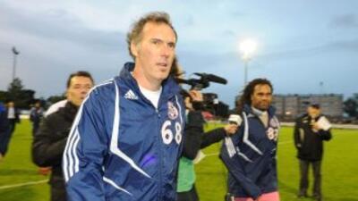 Laurent Blanc será el entrenador del PSG en sustitución de Carlos Ancelotti