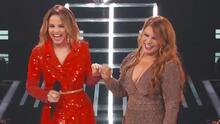 Olga Tañón comparte su fuego con Yennis Bencosme en el escenario de Reina de la Canción