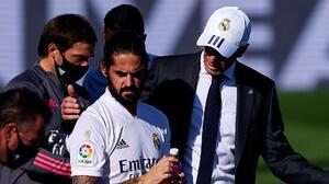 """Zidane: """"A Isco no le doy la oportunidad de mostrar el jugador que es"""""""