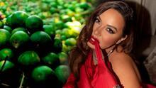 La ciencia le da la razón a Chiquis: médicos aseguran que el agua con limón sí ayuda a bajar de peso
