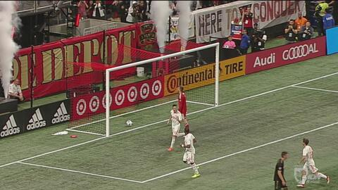Atlanta United humilla 5-0 al LAFC de Carlos Vela