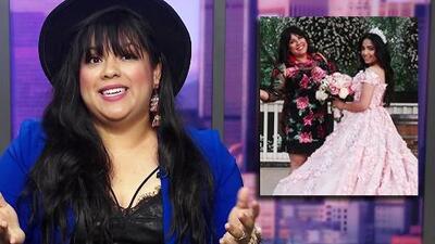 Las curiosidades sobre el vestido de XV años con el que Lupillo sorprendió a su hija Lupita