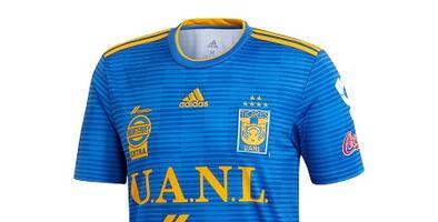 Camiseta Oficial de Tigres visitante de la Liga MX