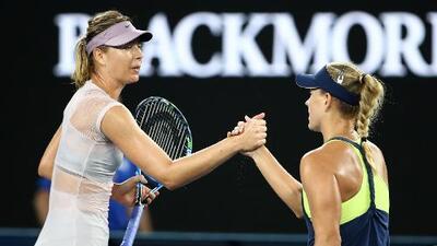 Sharapova y Kerber se perderán el Torneo de Luxemburgo