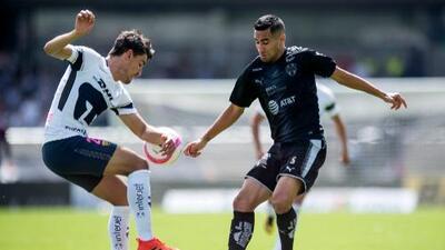 Luis Fuentes regresa a Pumas tras jugar en Monterrey