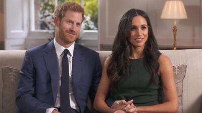 El príncipe Harry y su prometida Meghan Markle revelan cómo se conocieron