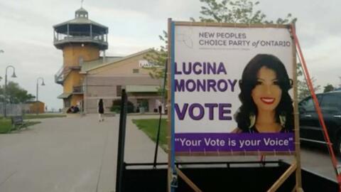 Lucina Monroy, descendiente de indígenas mexicanos, busca ser diputada y cantante en Canadá