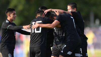 En fotos: la Sub-22 de México debuta con un triunfo corto sobre Baréin en Toulon
