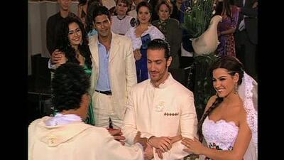 """Maite Perroni y Eugenio Siller tuvieron una boda de """"Pecado"""""""