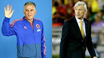 Técnicos cracks: Queiroz siguió los pasos de Pékerman al debutar con victoria en partido oficial con Colombia