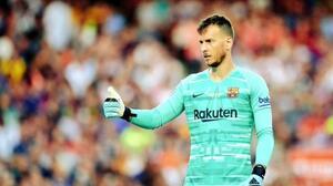Neto, portero del Barcelona, baja por tiempo indefinido