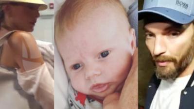 El bebé de Julián Gil y Marjorie de Sousa sufre una emergencia médica