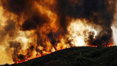 Incendio Mendocino Complex ha arrasado más de 600,000 acres en California