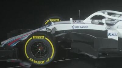 Escudería Williams presentó su nuevo monoplaza para la temporada 2018 de F1