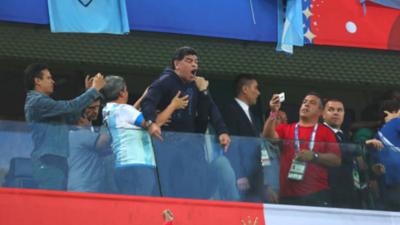 ¿Qué le pasa a Diego Armando Maradona?