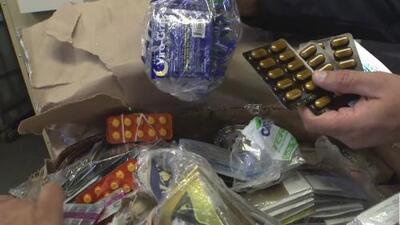 """Incautan miles de medicamentos ilegales que eran vendidos en las calles de Los Ángeles por ser considerados """"una amenaza"""""""