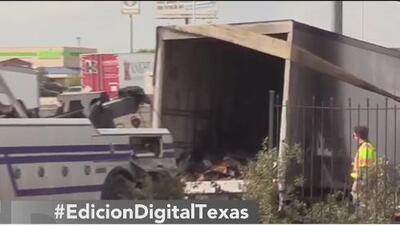 Conductor de USPS muere en un choque al noreste de San Antonio