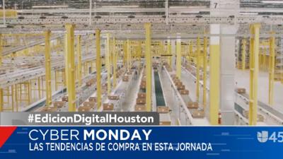 Así trabajan en el Amazon de Houston para distribuir las compras de Cyber Monday