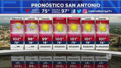 Continúan las altas temperaturas al centro de Texas