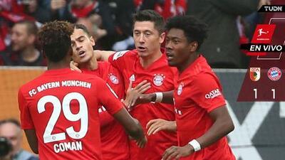 EN VIVO | ¡Partidazo! Bayern domina y llega, el Augsburg amenaza con cada contra