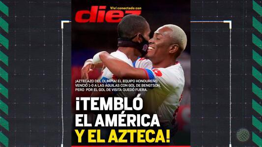 La polémica portada en Honduras tras el América vs. Olimpia