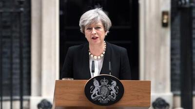 Theresa May no duda en llamar 'ataque terrorista' lo ocurrido en Manchester