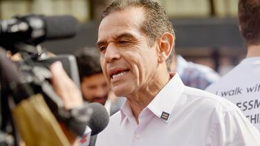Antonio Villaraigosa, el exalcalde de Los Ángeles que aspira a ser el primer gobernador hispano de California