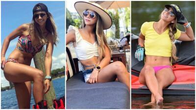 Las facetas de Andrea Domínguez, la piloto profesional de jetski que llena de orgullo a Colombia