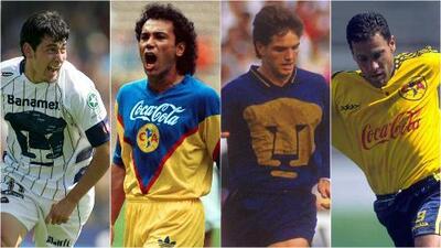 Jugadores y técnicos con paso por Pumas y América en la Liga MX