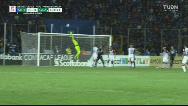 ¡Está caliente el gol! Motagua toca tres veces consecutivas al arco del Saprissa