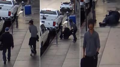 Arrestan al sospechoso de darle una brutal golpiza a un anciano en California