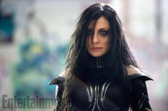 Cate Blanchett luce irreconocible en primeras fotos de 'Thor: Ragnarok'