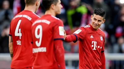 En fotos: sin lucir mucho, el Bayern superó por la mínima al Hertha en la Bundesliga