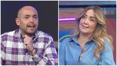 """""""Pero en tu mundo homosexual"""": Andrea Legarreta le aclara a Mauricio Clark que su opinión está basada en su vida"""