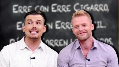 Estos 'gringos' hablan español bastante bien, ¿pero qué tan buenos son para decir trabalenguas?