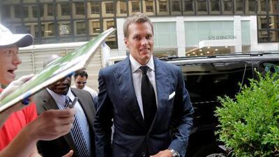 Terminó audiencia de apelación de Roger Goodell a Tom Brady en Nueva York