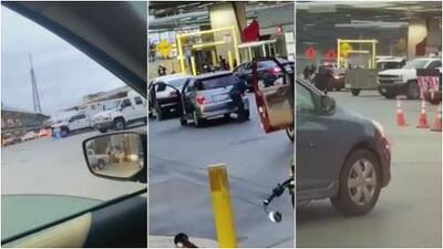 """""""El conductor no se detuvo para una inspección y un oficial abrió fuego"""": la versión de CBP sobre tiroteo en garita fronteriza"""