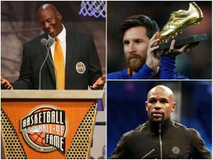 Los 20 deportistas que más dinero han ganado desde 1990 a la fecha