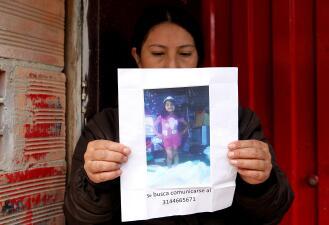 En fotos: El repudio de Colombia al asesinato y la violación de la niña Yuliana Andrea Samboní