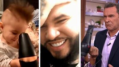 No solo Farruko se ríe del supuesto peluquín, ahora en las redes se viraliza el 'Farruchallenge'