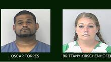 Detienen a una pareja de Florida que mantenía a tres adolescentes encerrados y malnutridos