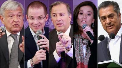 Se ultiman detalles para el primero de tres debates entre los candidatos a la Presidencia de México