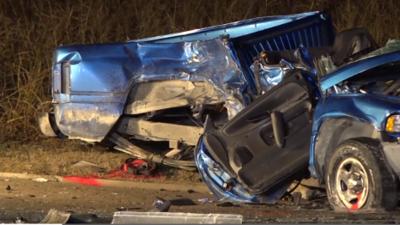 Revelan la identidad de los 4 estudiantes que murieron en el accidente automovilístico en el norte de Texas
